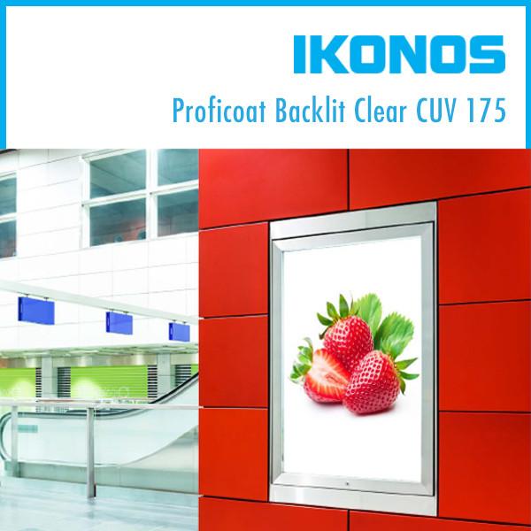 Пленка IKONOS Proficoat Backlit Clear CUV 175  1,27х50м