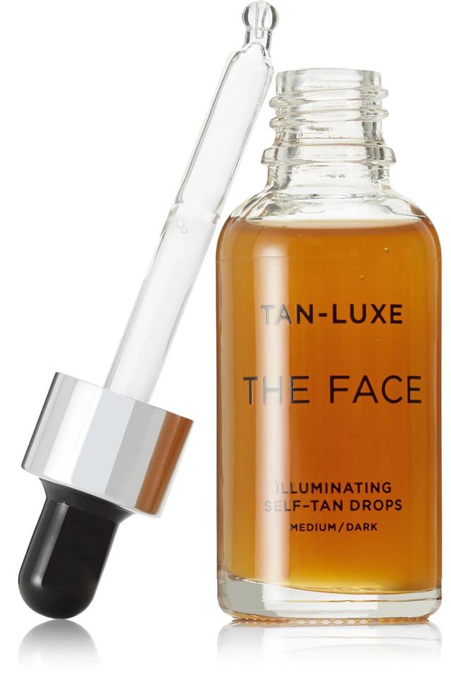Tan-Luxe The Face Illuminating Self-Tan Drops Medium/Dark