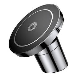 Тримач магнітний Baseus Big Ears Car Mount Wireless Charger Black