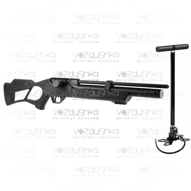 PCP винтовка Hatsan Flash + насос