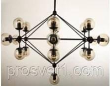 Люстра в стилі лофт на 19 ламп YG 16640-19P