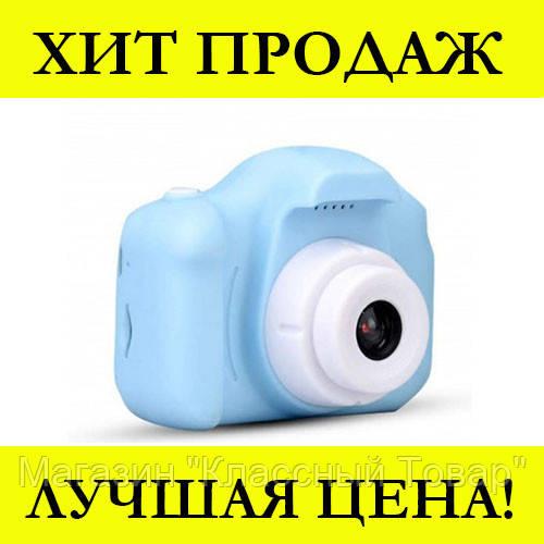 Детская Фотокамера Sonmax Синяя c 2.0″