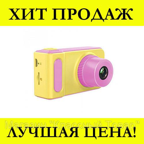 Детский фотоаппарат SMART KIDS CAMERA V7 (Розовый)
