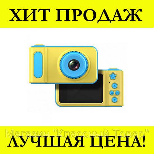 Детский фотоаппарат SMART KIDS CAMERA V7 (Синий)