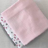Муслін ніжно-рожевий