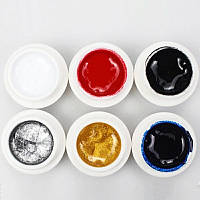 Гель-краска паутинка для ногтей SpiderGel 5g