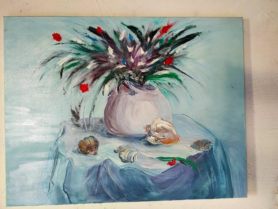 """Картина маслом """"Лето"""" на холсте  90х70"""