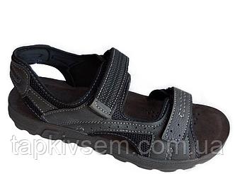 Мужские сандалии Memphis One 13526001(черные) производитель INBLU