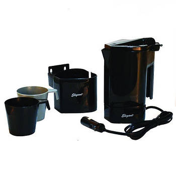 Автомобильный Чайник ELEGANT 101 530 400ml 12v комплект Польша