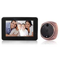 Беспроводной WiFi видеоглазок с датчиком движения Kivos KR06