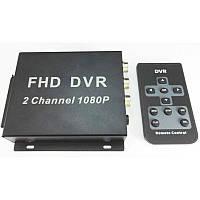 AHD видеорегистратор на 2 камеры Pomiacam 2 Мп, Full HD 1080P