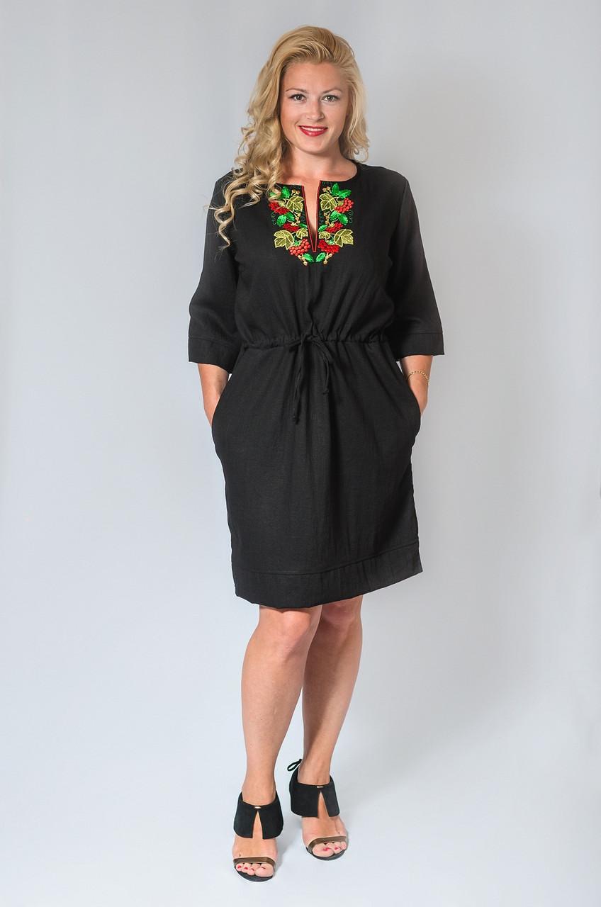 Женское платье-туника (44-60) 8011.1