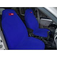Комплект грязезащитных чехлов ORPRO на передние сиденья (Синий)