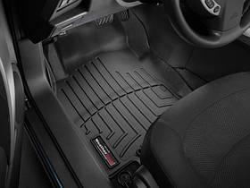Ковры резиновые WeatherTech  Nissan X-Trail 2015+ передние черные