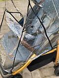 Прогулочная коляска CARRELLO Echo CRL-8508 с дождевиком, Azure Blue, фото 4