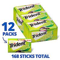 Блок Trident Lime Passion Fruit Twist  (12 шт), фото 1