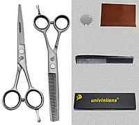 """Univinlions 5,5 """" дюймов профессиональные парикмахерские ножницы для стрижки комплект  5509A"""