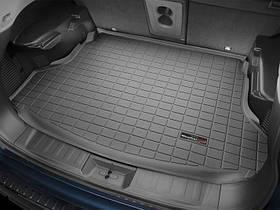 Ковры резиновые WeatherTech  Nissan X-Trail 2015+ в багажник черный
