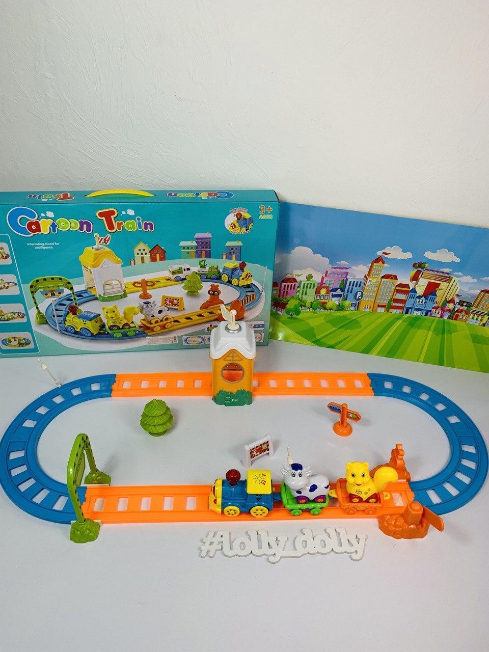 Залізниця з паровозиком 324-325
