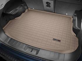 Ковры резиновые WeatherTech  Nissan X-Trail 2015+ в багажник бежевый