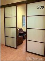 Розсувні міжкімнатні двері (перегородки)