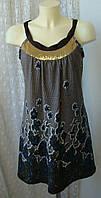 Платье женское сарафан теплый бренд Pussycat р.46 3606а