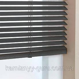 Жалюзи деревянные горизонтальные 25 мм венге Sundeco