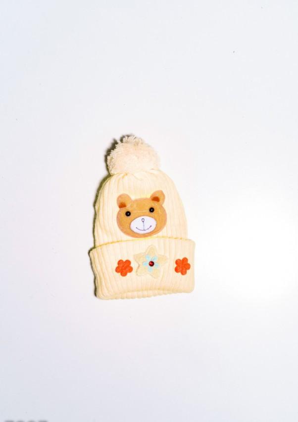 Детские шапки  7897  12 месяцев желтый
