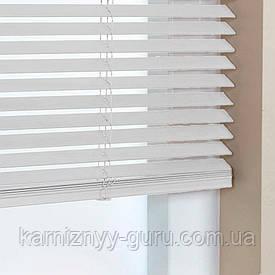 Жалюзи деревянные горизонтальные 25 мм белый Sundeco