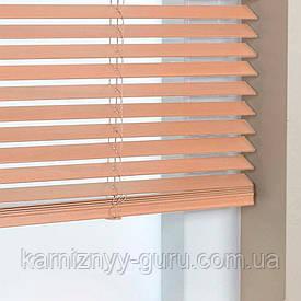 Жалюзи деревянные горизонтальные 25 мм кленовый Sundeco