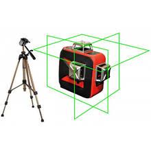 Лазерный уровень (нивелир) LSP LX-3D green professional 2ГОДА гарантия!