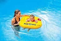 """Intex Плотик-ходунки 56587 EU """"Учимся плавать"""" (12) размером 79х79см, от 1 до 2 лет"""