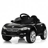 Детский электромобиль Машина «BMW» M 3175EBLR2 черный для девочки и мальчика 2 3 4 5 6 лет машинка БМВ