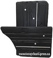 Обивка двери заводская ВАЗ 2106 кожа, молдинг.