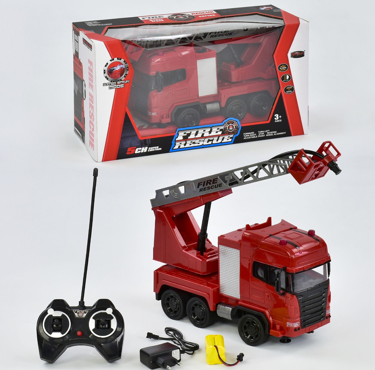Радиоуправляемая пожарная машина 666-191 А (12)