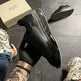 Женские кроссовки Alexander McQueen Clear Sole Black, кроссовки александр маккуин, фото 3
