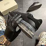 Женские кроссовки Alexander McQueen Clear Sole Black, кроссовки александр маккуин, фото 6