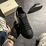 Женские кроссовки Alexander McQueen Clear Sole Black, кроссовки александр маккуин, фото 2