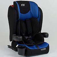 Детское автокресло JOY 43098, ISOFIX, универсальное, группа 1-2-3, вес ребенка от 9-36 кг