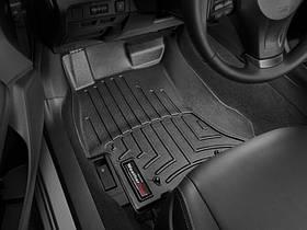 Ковры резиновые WeatherTech Subaru Impreza 2013-2016 передние черные