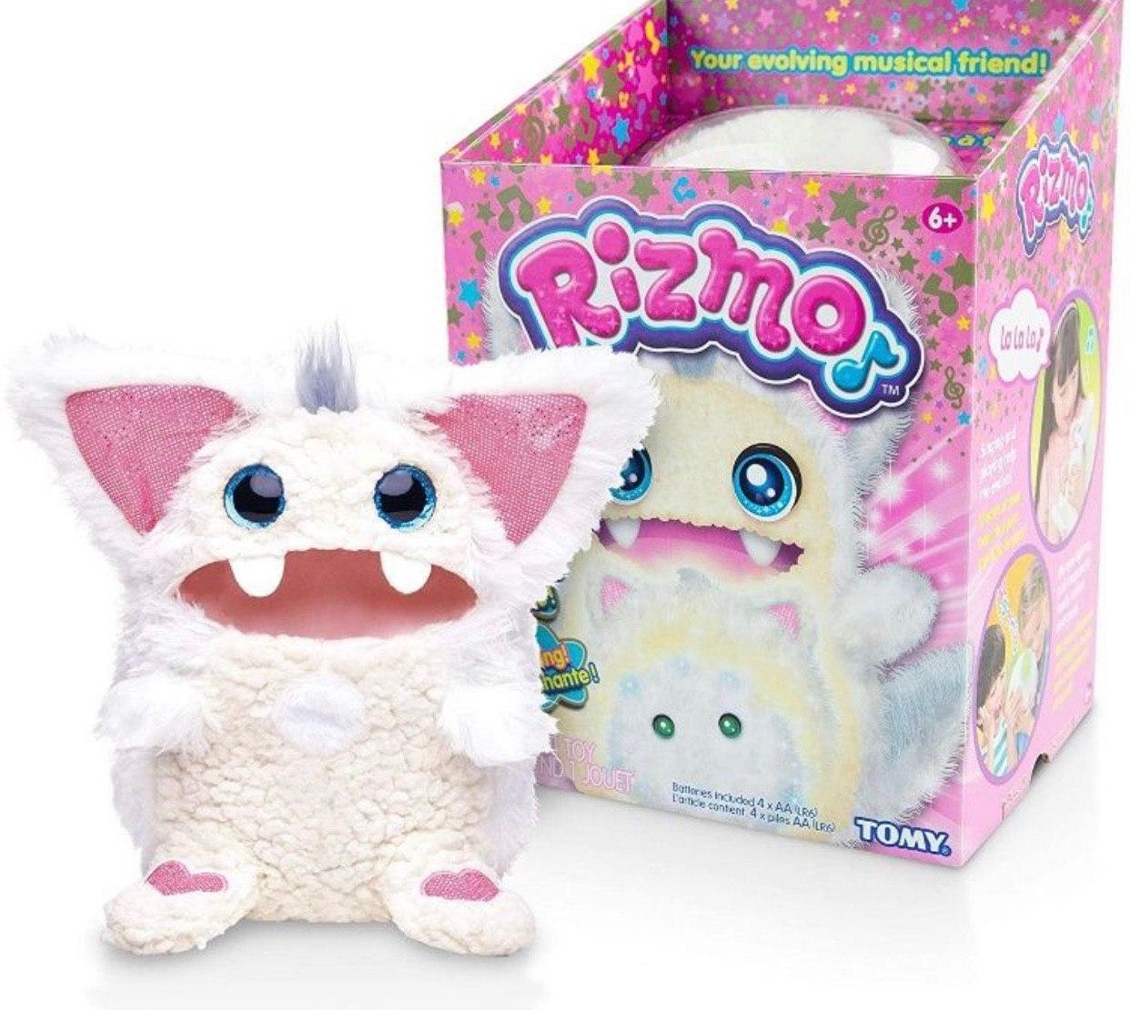 Интерактивная игрушка Rizmo Evolving Musical Friend  Ризмо White