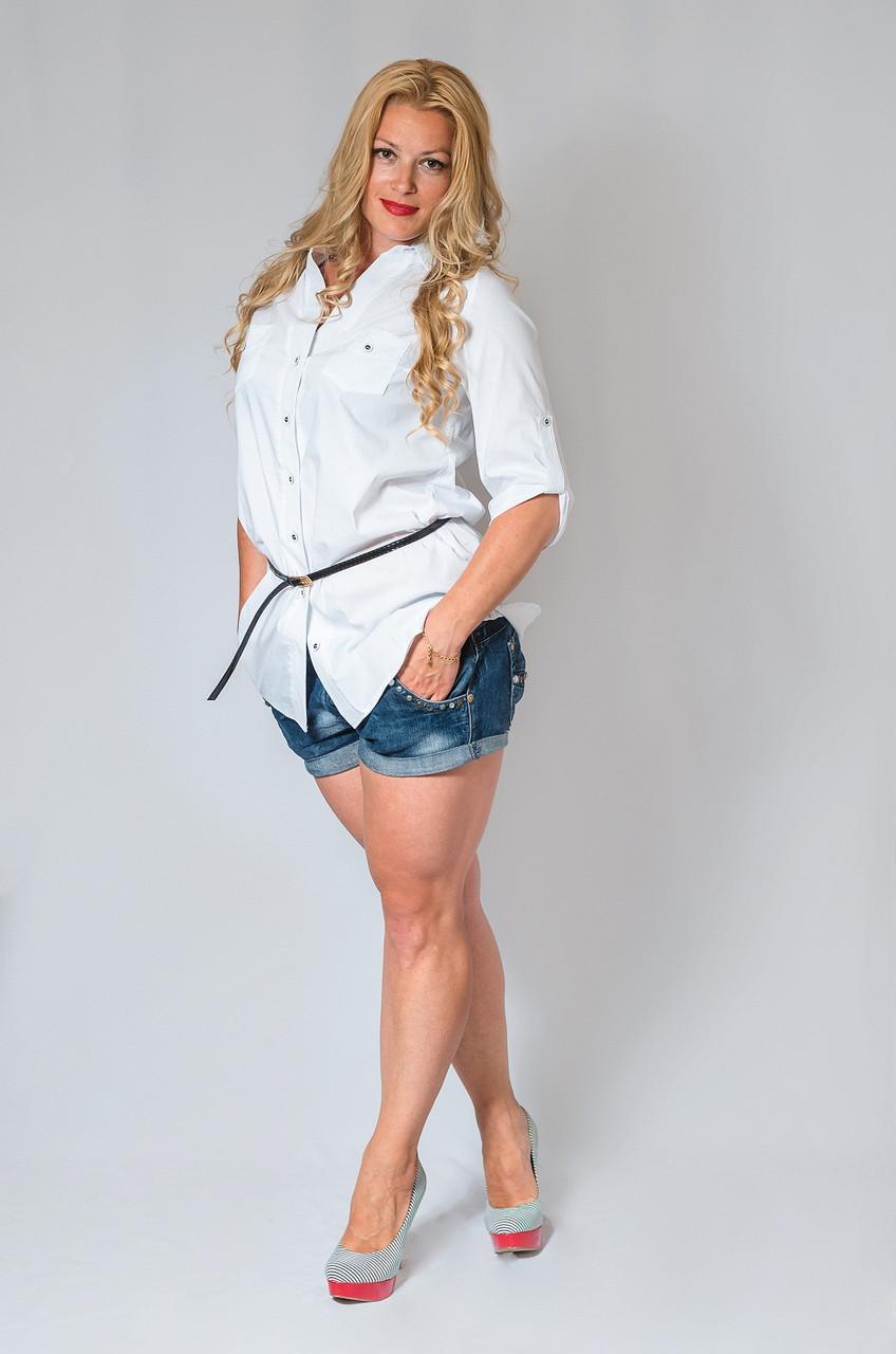 Женская рубашка(42-60) 8019