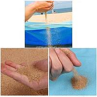 Пляжное покрывало коврик анти-песок 200х200