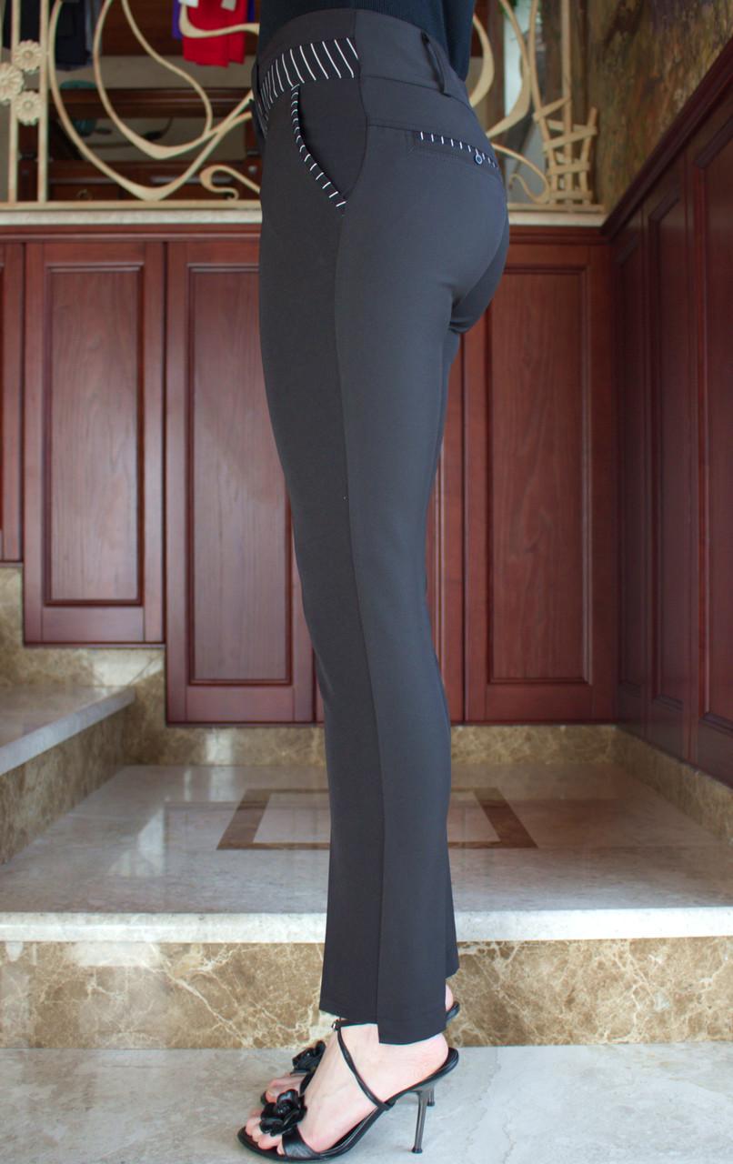 Брюки женские арт.60 классические 42-54 черные/ черного цвета/ черный