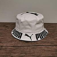 Мужская стильная панама (Puma) white / 58 размер
