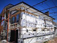 Фасадное утепление частных домов и коттеджей. Утепление фасада домов, фото 1