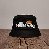 Мужская стильная панама (Ellesse) black / 58 размер