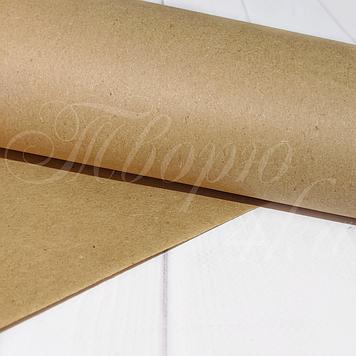Крафт бумага в рулоне 25м шириной 60 см, 65 г/м