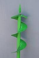 Ямобур садово-строительный, бур шнек 100 мм