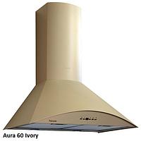 Fabiano Aura 60 ivory купольная кухонная вытяжка 60 см. эмаль слоновая кость